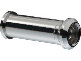 Türspion 2160 SB mess. verchr. D=12mm, TS 35-53, 160 Grad