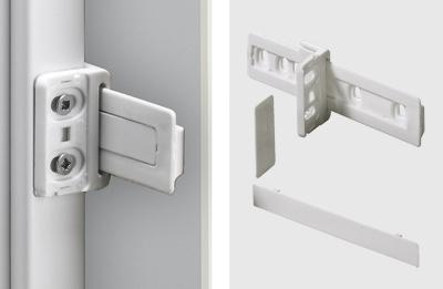 Kühlschrankumbau : Möbel kühlschrankumbau schleppbeschlag kunststoff weiß herm
