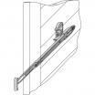 Maco-Ladenhalter für Türen Typ 11406 schwarz