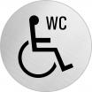 Hinweisschild, Edelstahl, 1 mm Nr. 8477, Behinderte