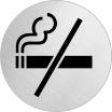 Hinweisschild, Edelstahl, 1 mm Nr. 40045, Rauchverbot