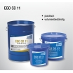 EGO Glaserkitt  5 kg grau SB11 plastisch, volumenbeständig, für Einfachverglasung entspricht DIN 18545-B