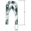 Leiterbänder   33 250 Z gebogen 250 mm m. Feststeller