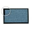 Türmatte-Innenbereich rutschfest, Höhe 10 mm, Typ Karat, 600 x 400 mm Nutzschicht Polyamid, farbe blau