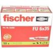 Fischer Universaldübel FU 8x50 S/10          Best.- Nr. 53334