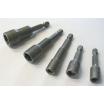 Steckschlüssel-Einsatz mit Magnet 1/4   / Form E / 6,3 / M6 / SW10x65mm