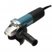 Makita Winkelschleifer 125mm, 840 Watt, sehr schlankes Gehäuse, Hochleistungsmotor mit Wiedereinschaltsperre