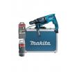 Makita Kombihammer, Meißelfunktion, Schnell- wechselfutter SDS plus, LED, 3,0kg, 800Watt, 230V, im Alukoffer, Bohrleistung 26mm