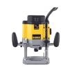 Dewalt Oberfräse 2000W, 8000-20000 U/min. Werkzeugaufnahme 6-12,7mm, Fräskorbhub 80mm, Parallelanschlag mit Feineinstellung,Absaugadapter