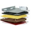 Bepo Dista Clip-Set für FFS 150/151 bestehend aus 4 Distanzplatten 2,4,6,10mm sowie Fixierschraube