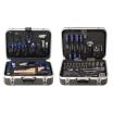 Projahn Werkzeugkoffer-Set 149 teilig   1/4   und 1/2 Hartschalenkoffer 460 x 330 x 145 mm