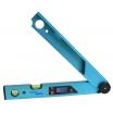 Hedü Winkelmesser Digital WM3 49cm,, 0-225°, 2 Libellen kleinste Anzeige 0,05 Grad, mit Tasche
