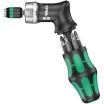 WERA Kraftform Kompakt Pistole RA Feinverzahnung, rechts/links umstellbar magnetisch und 6 Bits in 25mm Länge