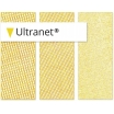 Menzer UltraNet Klett-Schleifgitter 225mm Korn120 Edelkorund, besonders staubarm, extralange Stand- zeit, Farbe Lacke, Gips, Spachtel, Holz, Kunstst.