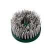 Metabo Tellerbürste 130 mm P60 SiC Schleifbürste, gewellt, M 14-Gewinde Drehzahl 1200 - 1900 U/min