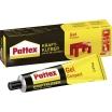 Pattex Kraftkleber Gel Compact Kontaktklebstoff Tube 125g, tropffrei, beständig -40 bis +70°C Ablüftzeit ca. 15Min, Verbrauch 250-350g/m²