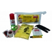 Ballistol Radler-Set, 11-tlg., Spray, Tuch, 2 Reifenheber, Poncho, Wundpflaster, Flicken, Schere