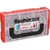 Fischer FIXtainer DUOPOWER-Dübel-Box Inhalt: 60 6x30, 40 8x40, 20 10x50, 2-komponenten Dübel: für mehr Leistung und sicherer Funktion