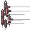 Gedore Red 2K-T-Griff-Schraubendr.Satz 6kt 2.5-8mm 6-teilig, Zwei-Wege-Profil CV-Stahl, matt verchromt