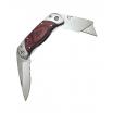 Taschenmesser 170 mm u. Cutter klappb/rostfreie Klinge/Tasche