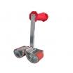 Tragegriff Carrymate 5, Tragelast/Griff 100kg Spannweite 0-80mm, selbstjustierendes Klemmsystem robuste Aluminiumkonstruktion, Paarweise im Karton