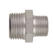 Schneider Doppelnippel Stahl verz.  R1/4 xR1/2