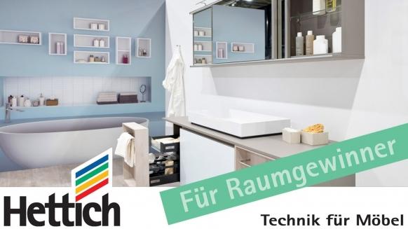 Embedded thumbnail for Das Bad als Stauraumwunder