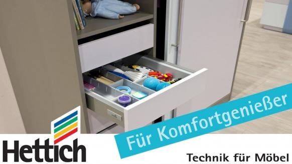 Embedded thumbnail for Kinderzimmerschrank mit extra Stauraum