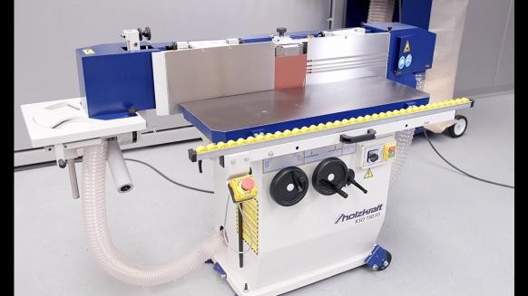 Embedded thumbnail for Holzkraft KSO 150 FD Profi-Kantenschleifmaschine