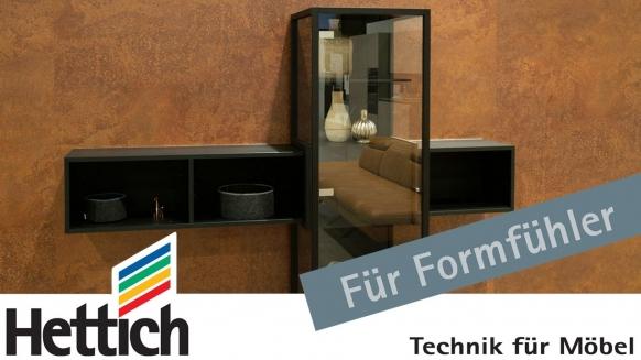 Embedded thumbnail for Hettich - die fahrbare Glasvitrine